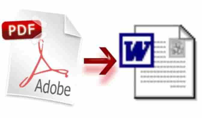 come convertire un file pdf in word