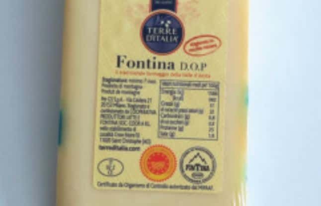 escherichia coli nel formaggio fontina