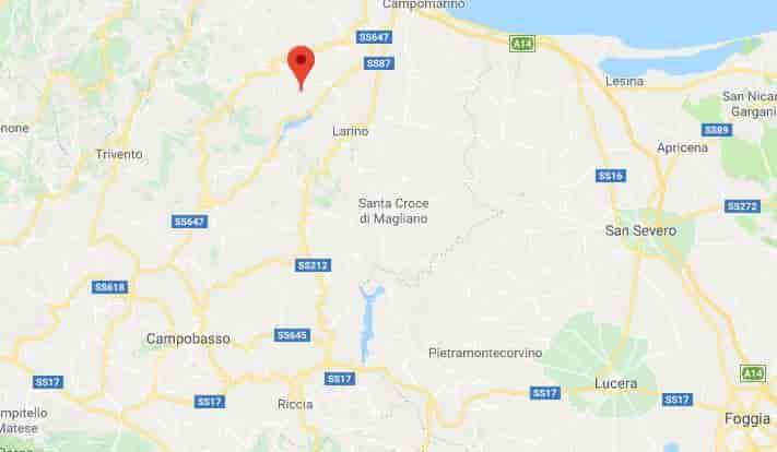 terremoto campobasso 14 agosto 2018
