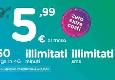 Promo Ho. Mobile 50 GB | 5,99 euro al mese (invece di 9,99 euro) per i clienti Iliad e altri MVNO