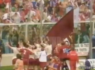 28 anni fa a Cesena la Reggiana conquistava la Serie A