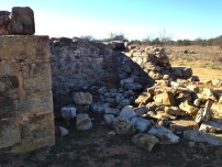 This pile of rocks used to be a jail cell.