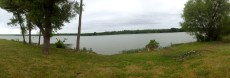 A Panoramic View of the Lake