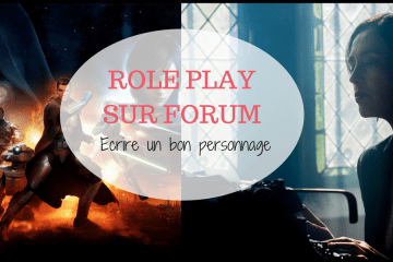 role play sur forum - écrire perso
