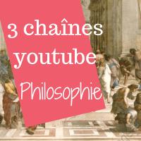 3 chaînes Youtubes qui parlent de philosophie