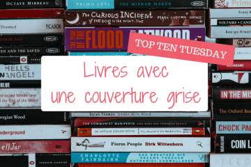Top Ten Tuesday Couvertures Grises