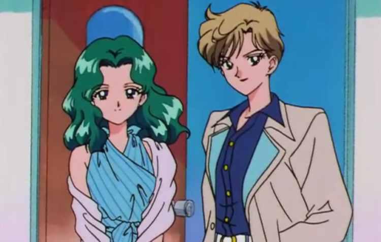 Sailor Uranus et Sailor Neptune - dessins animés