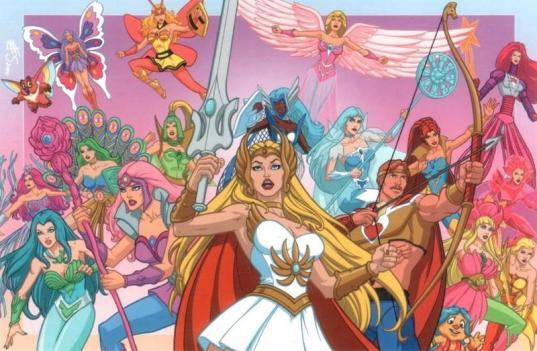 Shera - dessin animé années 80