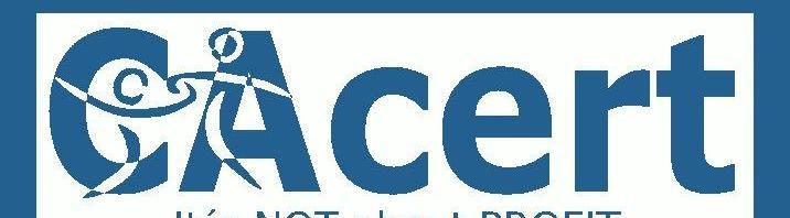 digitale Signatur für E-Mails von CAcert.org