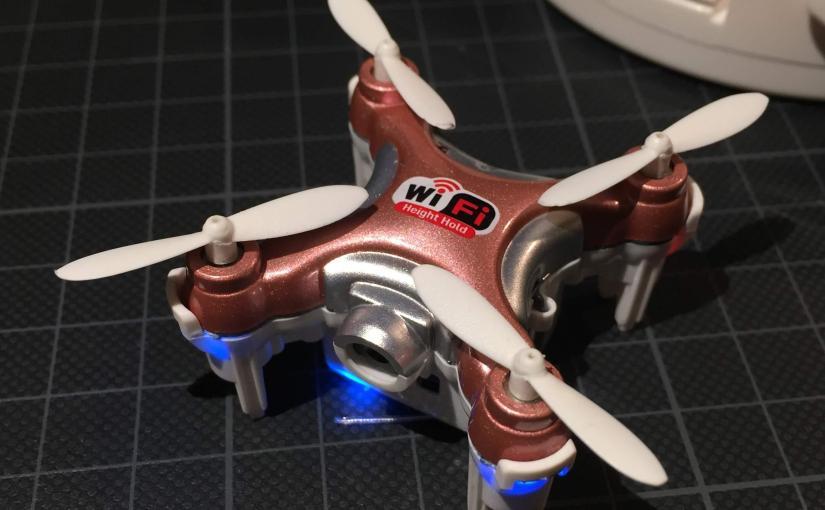 Review: Mini FPV Drone Cheerson CX-10WD