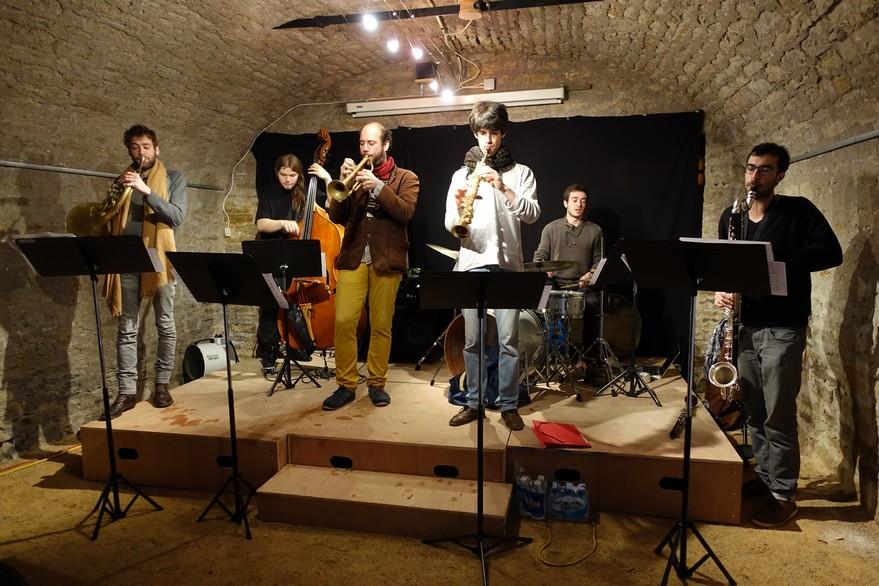 chambres d'hôtes La Gémuloise concert dans la cave voûtée