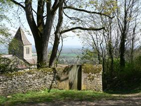 Chambre d'hôtes la Gémuloise vue sur Russilly