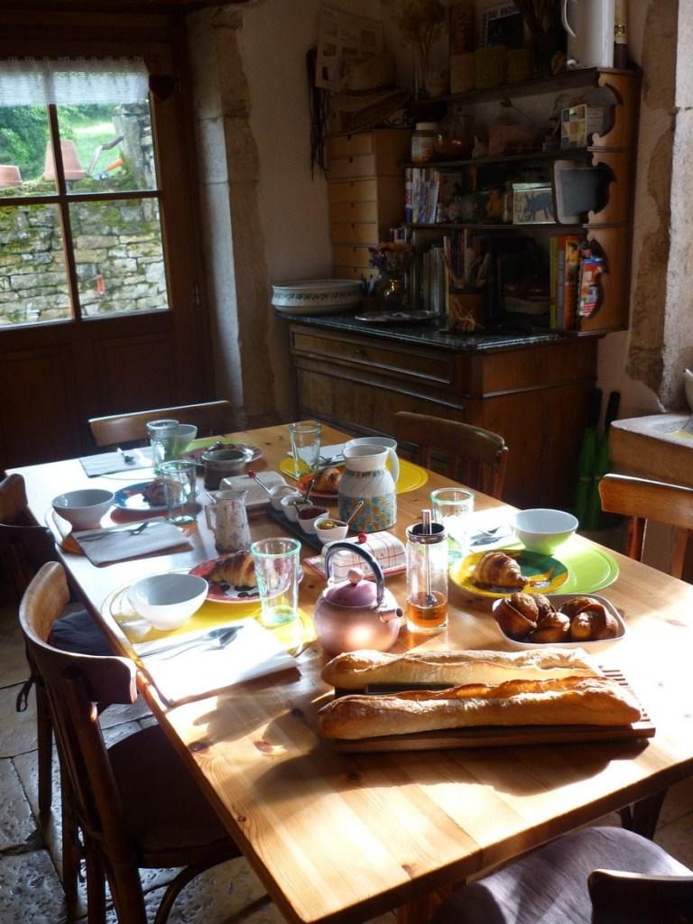 Chambres d'hôtes La Gémuloise petit déjeuner