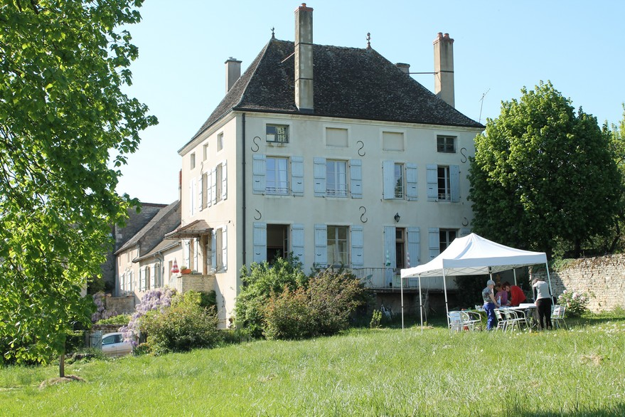 Chambre d'hôtes La Gémuloise côté parc