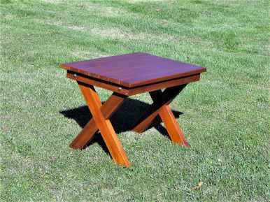 table basse carree adirondack cedre blanc lagencee16