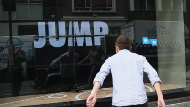vitrine Nike pour Jump