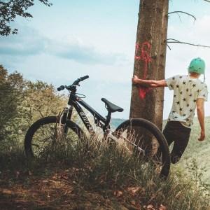 Mountainbike framdämpad