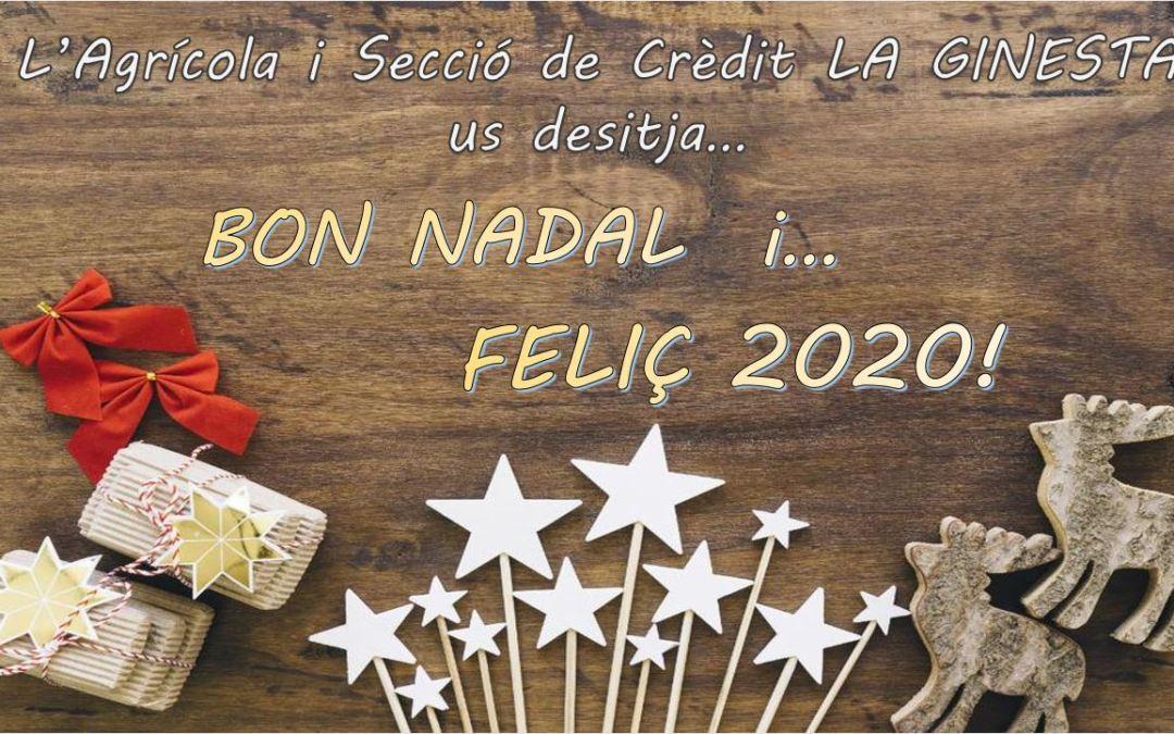 BONES FESTES I FELIÇ 2020!