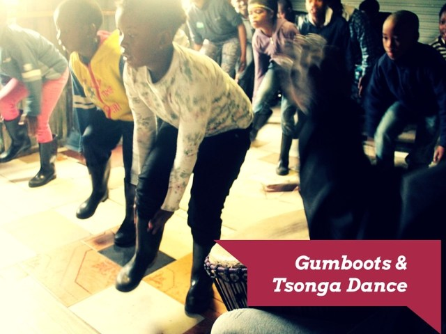 Gumboot Tsonga Dance