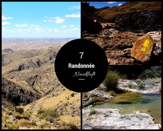 randonnée naukluft namibie