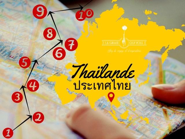 carte thailande blog voyage