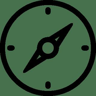 Icono de una brújula