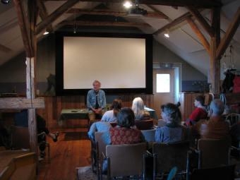 Filmklubb på Lagnö Studio