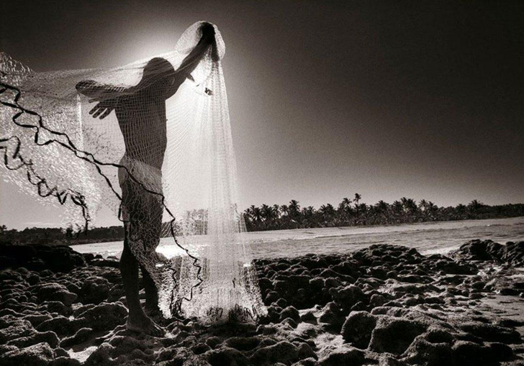 Pescador em Caraíva