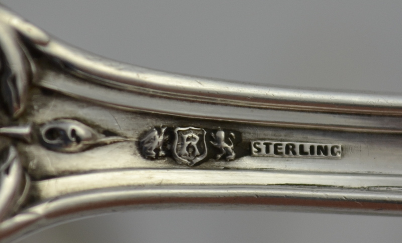 Reed Flatware Silver Setting 4 Barton Sterling Piece And Francis I