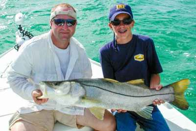 Family Snook Fishing