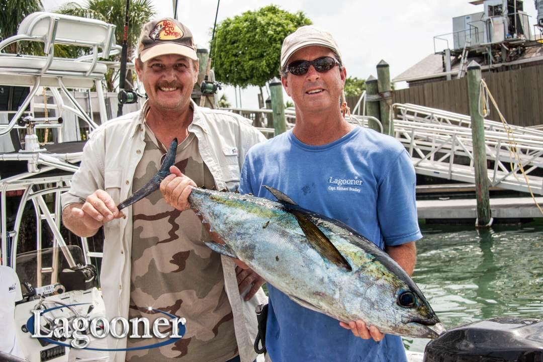 blackfin tuna fishing