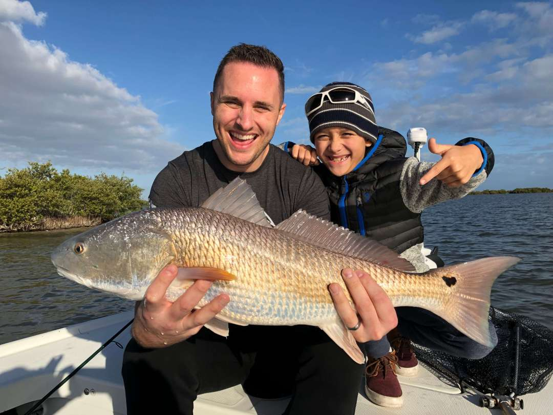 Redfish on the Mosquito Lagoon