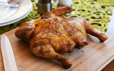Mediterranean Spatchcocked Chicken