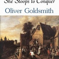 SHE STOOPS TO CONQUER...TYPE-STYLE-STRUCTURE-SETTING