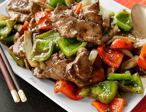 Recipe- How To Make Beef Stir Fry In Pepper Sauce