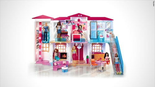 Barbie's high-tech Dreamhouse