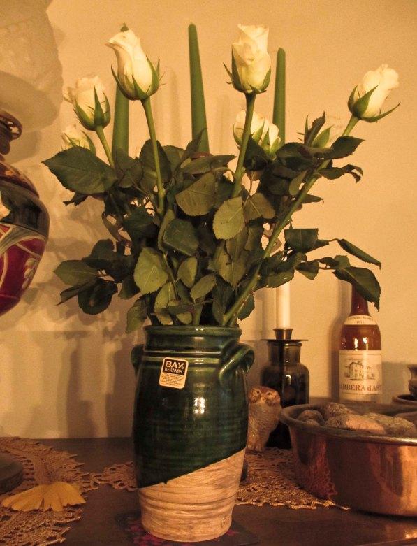 White roses for Valentine