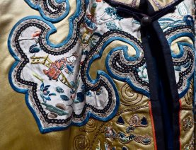 Details in a Chinese jacket