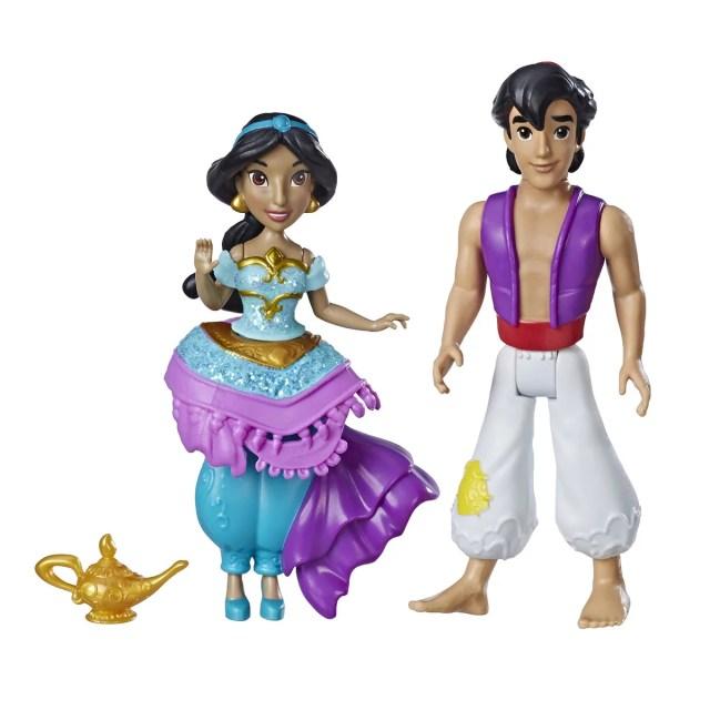 Mini-poupée Disney Princess - Princesse et son prince - Les héros