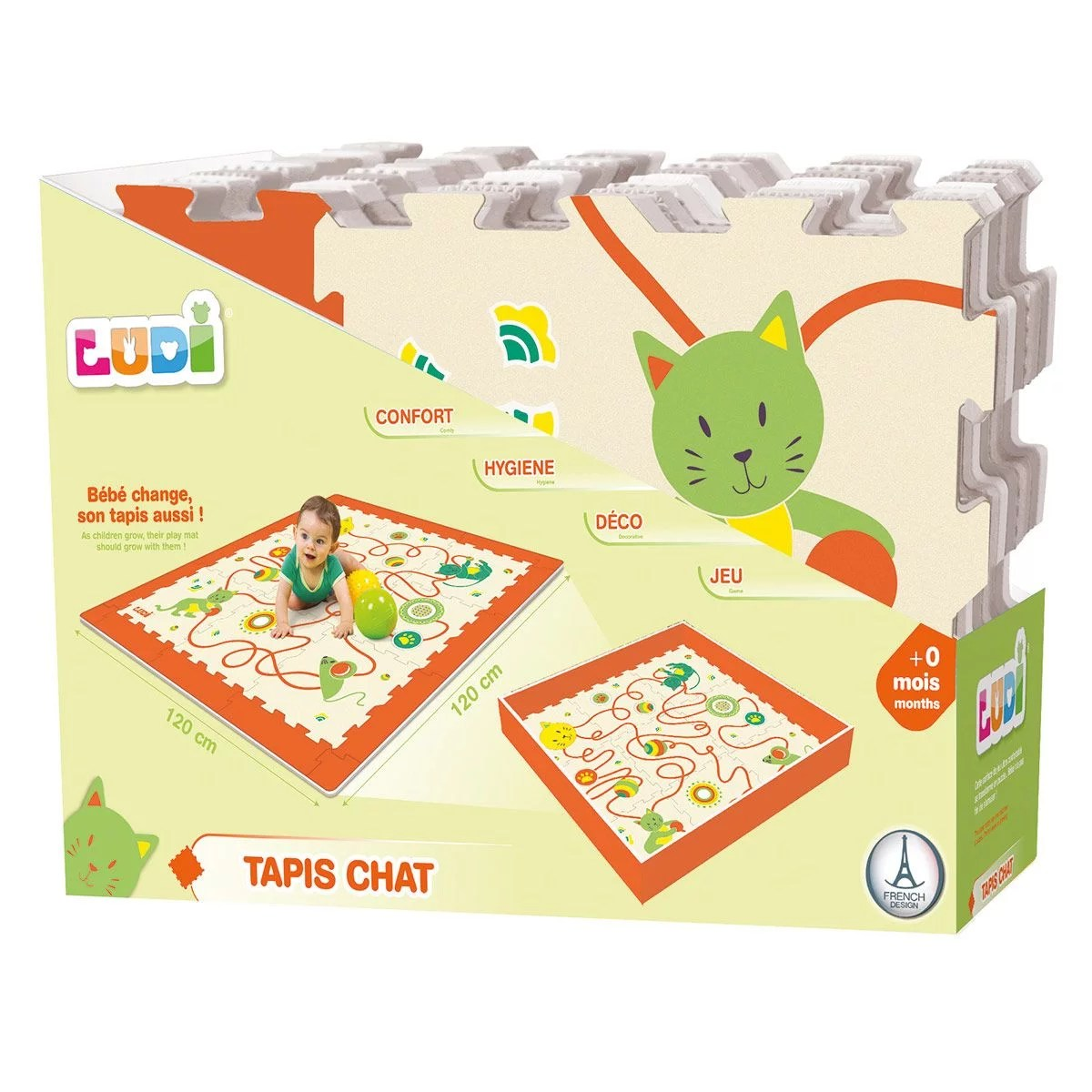 tapis mousse chat