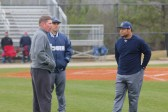 Coach Dusty Hubbard and the South Gwinnett coaching staff