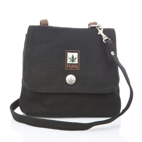 Petit sac bandoulière pure HF-0025 noir