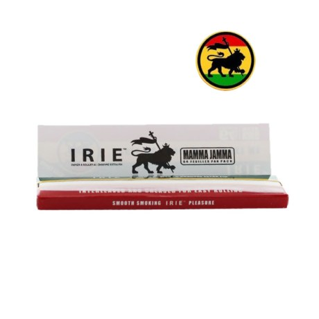 Feuilles IRIE King Size Slim chanvre