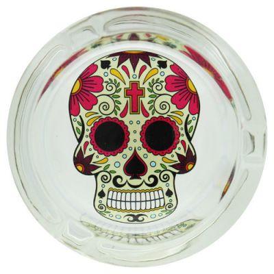 cendrier_verre_rond_skull_croix