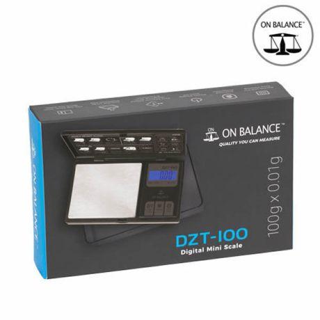 """Balance de poche """"DZT-100"""" (Noir)"""
