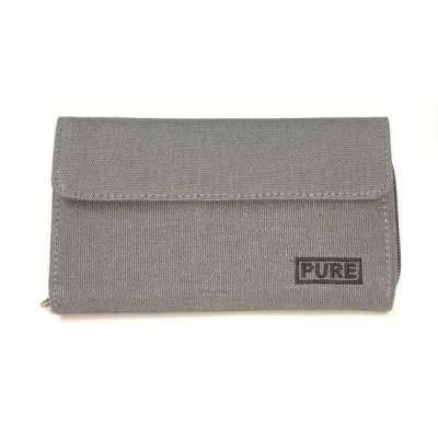 portefeuille femme organisateur gris pure hp-0065 1
