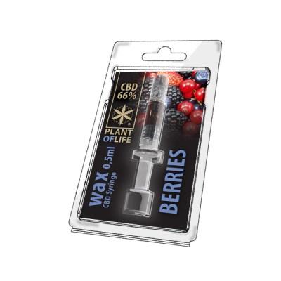 Berries wax 66% cbd 0.5g