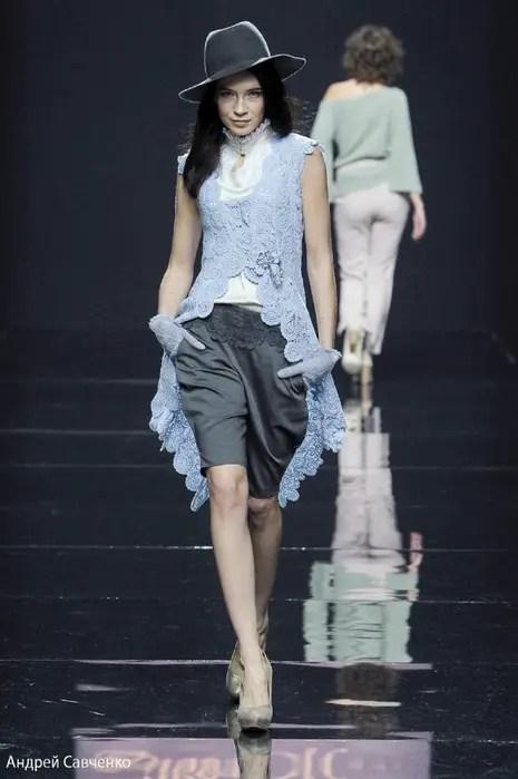 Explications d'un modèle haute couture