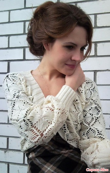 Crochet un pull de granny motif ananas