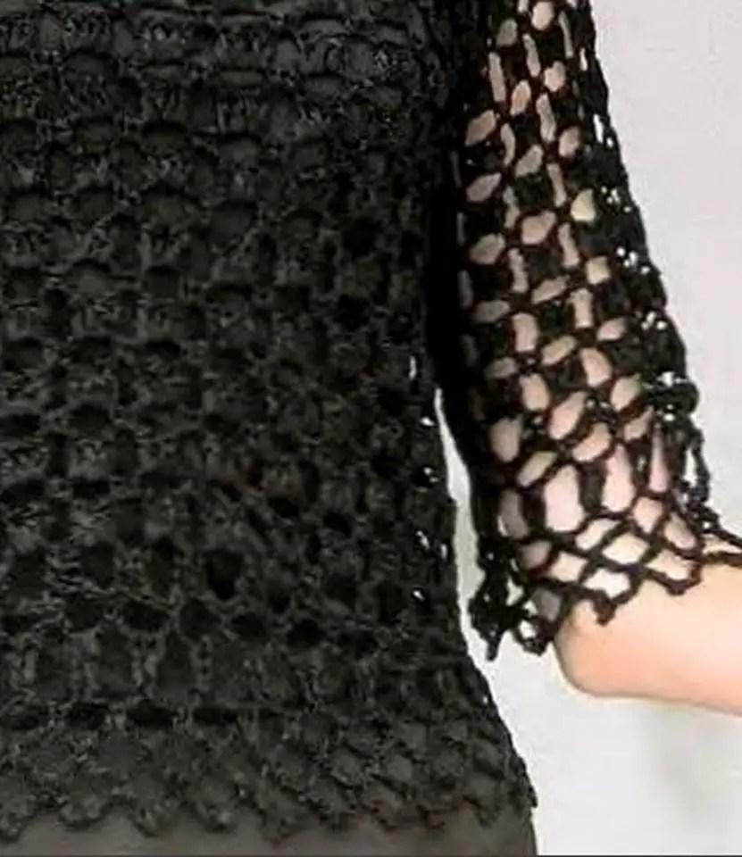 Crochet un pull léger pour les fêtes